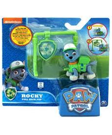 Mancs Õrjárat Rocky figura és jelvény 6022626