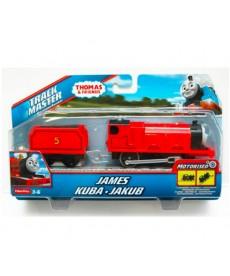 Thomas Track Master James motorizált mozdony rakománnyal BML08
