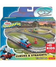 Thomas Adventures Klasszikus pályacsomag kanyarral DYV57