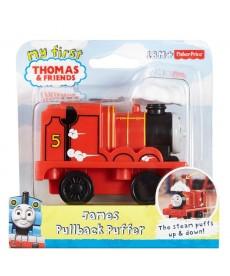 Thomas felhúzható mozdonyok - James (piros) DGK99
