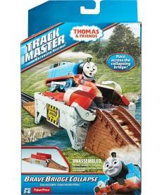 Thomas Track Master életveszélyes híd sínelem BMK81