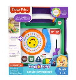 Tanulo lemezjatszo fisher price 11FBM47