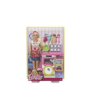 Barbie: Cukrász játékszett FHP57
