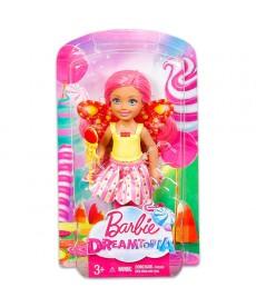 Barbie Dreamtopia: Sárga felsős Tündér Chelsea baba DVM87