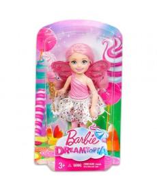 Barbie Dreamtopia: Rózsaszín felsős Tündér Chelsea baba DVM87
