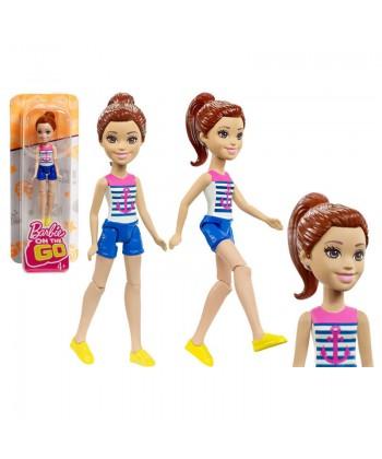 Barbie On The Go baba - Barna hajú tengerész Barbie