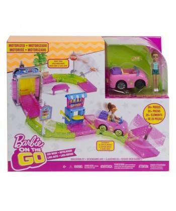 Barbie on the Go: Autómosó szett FHV91
