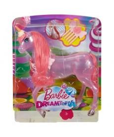 Barbie Dreamtopia - Világos rózsaszín unikornis DWH10
