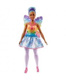 Barbie Dreamtopia: Kék hajú tündér baba FJC84