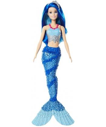 Barbie Dreamtopia: Sellő baba kék hajjal FJC89