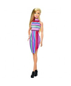 Barbie Fashionistas: szőke hajú Barbie baba FBR37
