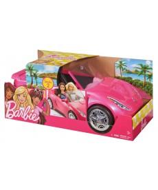 Barbie: kétszemélyes sportkocsi - rózsaszín DVX59
