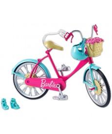 Barbie: klasszikus bicikli - rózsaszín DVX55