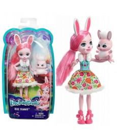 Enchantimals Baba állatkával - Bree Bunny baba és Twist figura DVH87