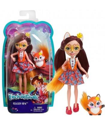 Enchantimals Baba állatkával - Felicity Fox és Flick figura DVH87