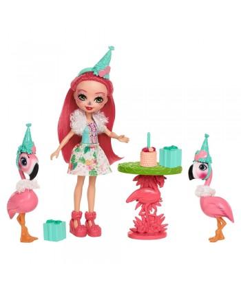 Enchantimals Baba állatkákkal kis szett - Flamingó móka FCC62