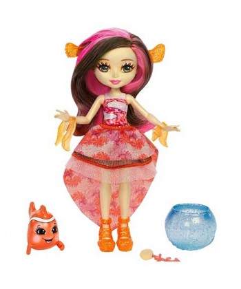 Enchantimals baba kis vízi állatkával - Clarita Clownfish és Cackle FKV54