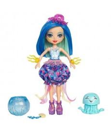 Enchantimals baba kis vízi állatkával - Jessa Jellyfish és Marisa FKV54