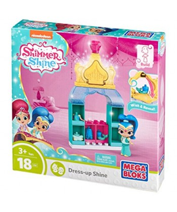 Mega Bloks: Shimmer És Shine gardrób játékszett - Shine FBK00