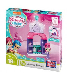 Mega Bloks: Shimmer És Shine Gardrób Játékszett - Shimmer FBK00
