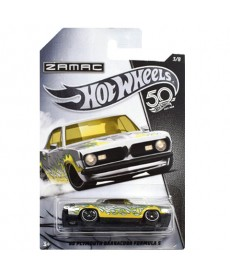 Hot Wheels 50 Jubileum: '68 Plymouth Barracuda Formula S kisautó FRN23