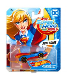 Hot Wheels DC Super Hero Girls: Supergirl kisautó DXN49