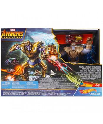 Hot Wheels - Avengers Infinity War: A Bosszúállók és Thanos harca FLM81
