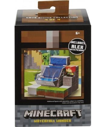 Minecraft Vízesés Játékszett Alex minifigurával DWV73