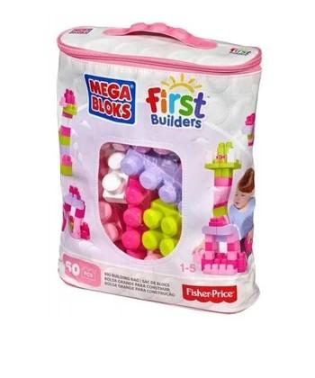 Mega Bloks: 60 db lányos építőkocka táskában DCH54