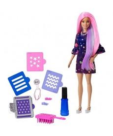Barbie: Színvarázs hajszínező baba FHX00