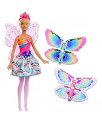 Barbie Dreamtopia: repülő szárnyú Barbie FRB08