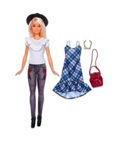Barbie Fashionistas: Szőke Barbie kalapban FJF67