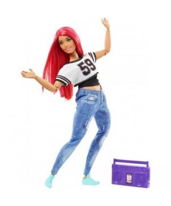 Sportoló Barbie - molett táncos baba DVF68