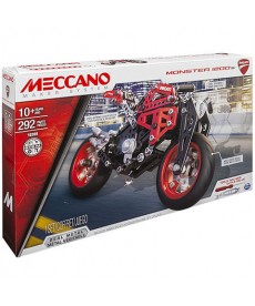 Meccano: Ducati Monster 1200 motor fém építő szett 6027038