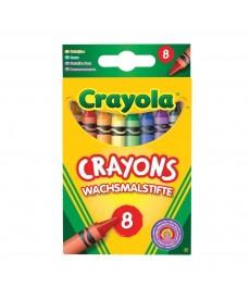Crayola: Viaszkréta 8 db-os