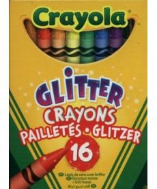 Crayola: Csillámos viaszkréta - 16 darabos 523716