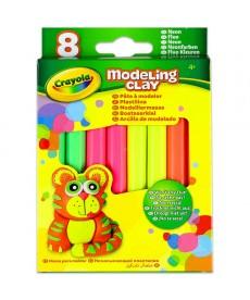 Crayola: Gyurma 8 darabos, neon színek 570313