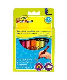 Crayola: 16 darabos tömzsi háromszög zsírkréta 52016T