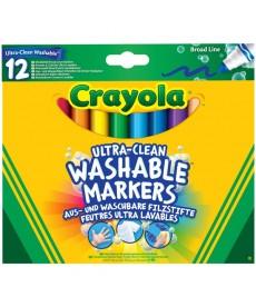 Crayola: Extra-lemosható vastag filctoll 12 darabos 588329
