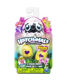 Hatchimals: 2 darabos fészek szett dobozban 3. széria 6041332
