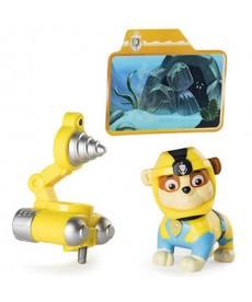 Mancs őrjárat: Sea Patrol világító Rubble játékfigura 6040268
