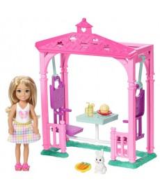Barbie: Chelsea kerti játék szett FDB32