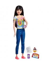 Barbie Skipper bébiszitter sötét barna hajú Barbie FHY89