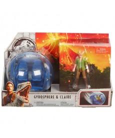 Jurassic World 2 Gyrosphere és Claire figura FMM49