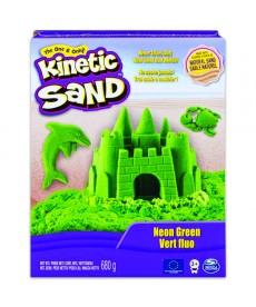 Kinetic Sand Kinetikus homok (neon zöld) 6037535
