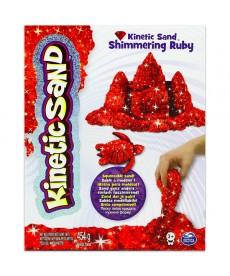 Kinetikus homok csillámló rubin színű 454 gramm 6026420