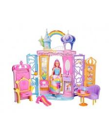 Barbie Dreamtopia Barbie és a szivárvány kastély FRB15