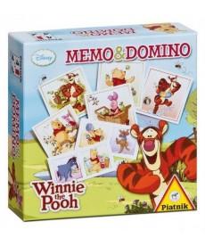 Micimackó Memo & Domino 2in1 Játékszett 737596