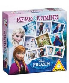 Jégvarázs Memo & Domino 2in1 Játékszett 736599