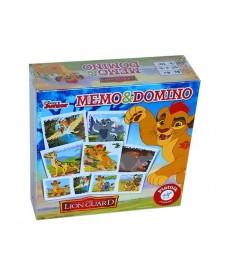 Oroszlán Őrség Memo & Domino 2in1 Játékszett 740091